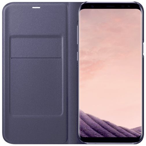 Productafbeelding van de Samsung LED View Cover Purple Galaxy S8+