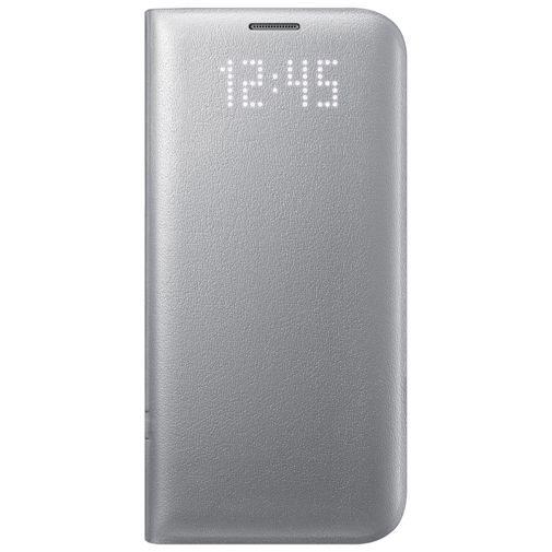 Productafbeelding van de Samsung LED View Cover Silver Galaxy S7 Edge