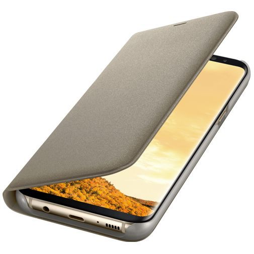 Productafbeelding van de Samsung LED View Cover Gold Galaxy S8+
