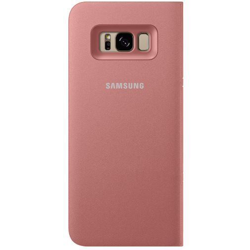 Productafbeelding van de Samsung LED View Cover Pink Galaxy S8+