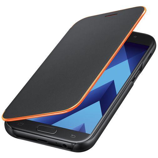Productafbeelding van de Samsung Neon Flip Cover Black Galaxy A5 (2017)