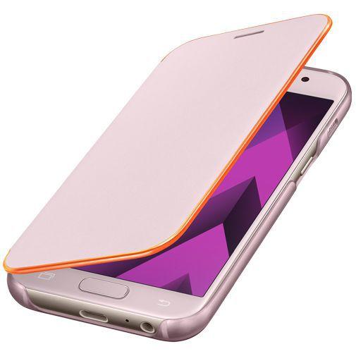 Productafbeelding van de Samsung Neon Flip Cover Pink Galaxy A3 (2017)
