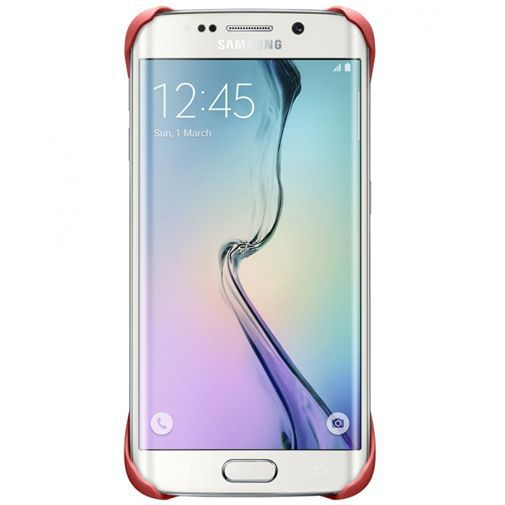 Productafbeelding van de Samsung Protective Cover Coral Galaxy S6 Edge