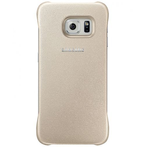 Productafbeelding van de Samsung Protective Cover Gold Galaxy S6 Edge