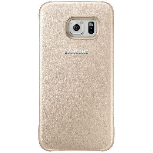 Productafbeelding van de Samsung Protective Cover Gold Galaxy S6