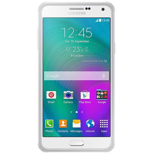 Produktimage des Samsung Protective Cover Light Grey Galaxy A7