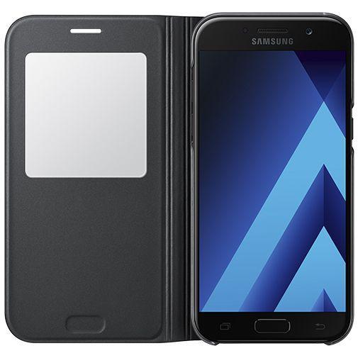 Productafbeelding van de Samsung S View Cover Black Galaxy A5 (2017)