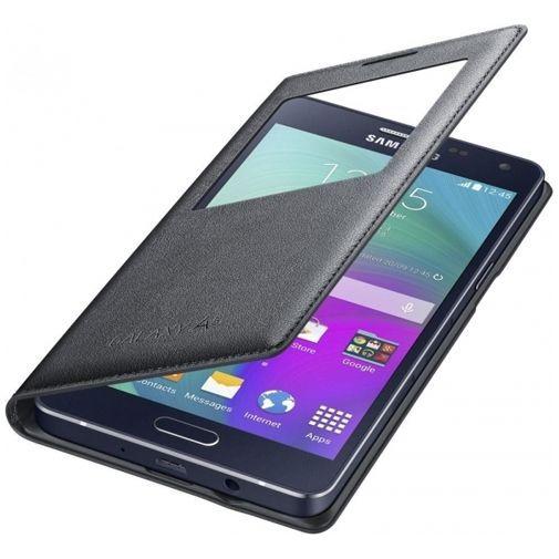 Productafbeelding van de Samsung S-View Cover Black Galaxy A5