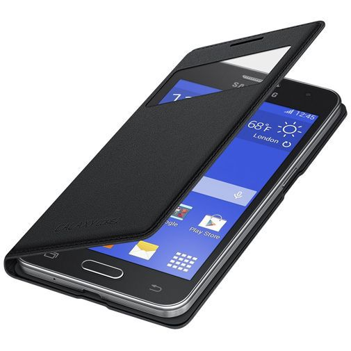 Productafbeelding van de Samsung S-View Cover Black Galaxy Core 2