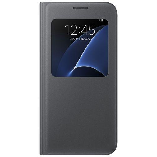 Productafbeelding van de Samsung S View Cover Black Galaxy S7