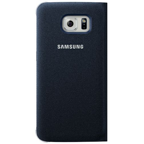 Productafbeelding van de Samsung S View Cover Canvas Black Galaxy S6