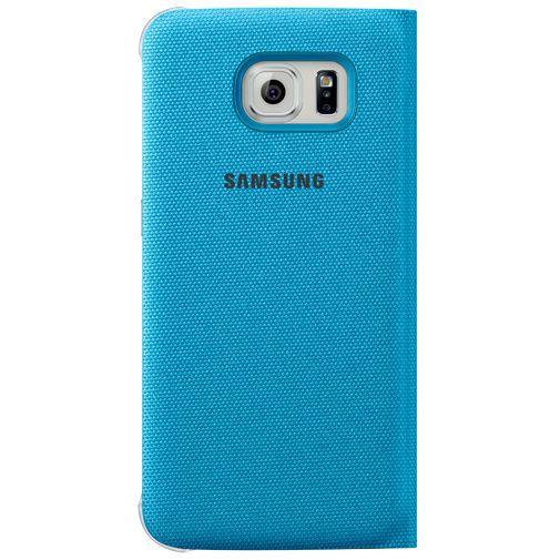 Productafbeelding van de Samsung S View Cover Canvas Blue Galaxy S6