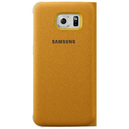 Productafbeelding van de Samsung S View Cover Canvas Yellow Galaxy S6