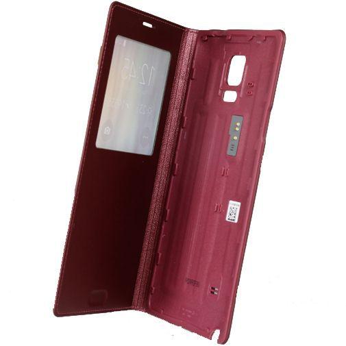 Productafbeelding van de Samsung S View Cover Electronic Purple Galaxy Note 4