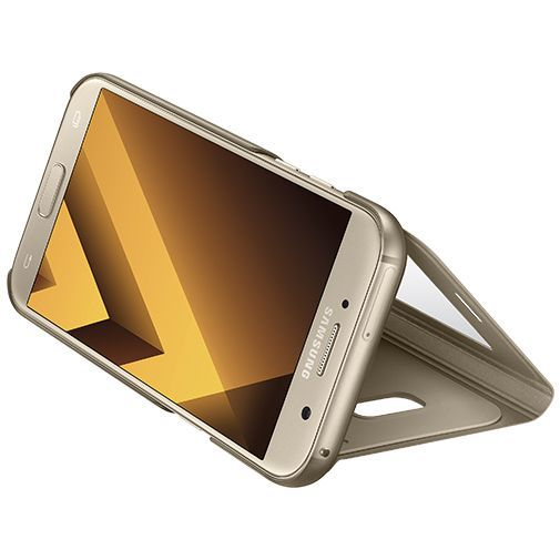 Productafbeelding van de Samsung S View Cover Gold Galaxy A5 (2017)