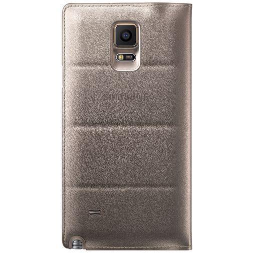 Productafbeelding van de Samsung S View Cover Gold Galaxy Note 4