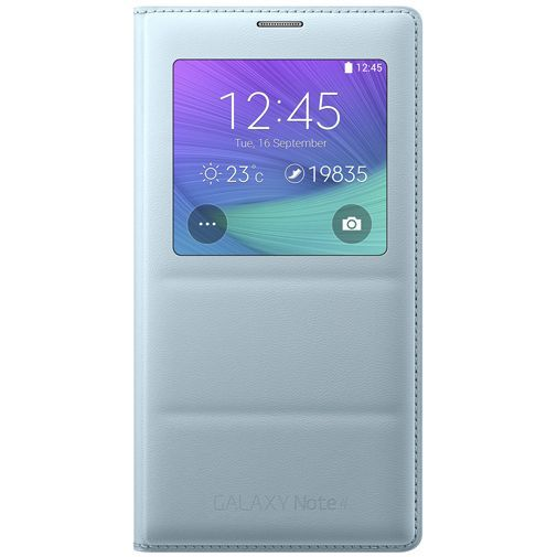 Productafbeelding van de Samsung S View Cover Mint Galaxy Note 4