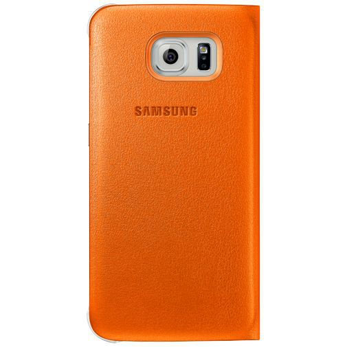 Productafbeelding van de Samsung S View Cover Original Orange Galaxy S6