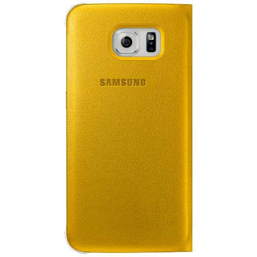 Productafbeelding van de Samsung S View Cover Original Yellow Galaxy S6