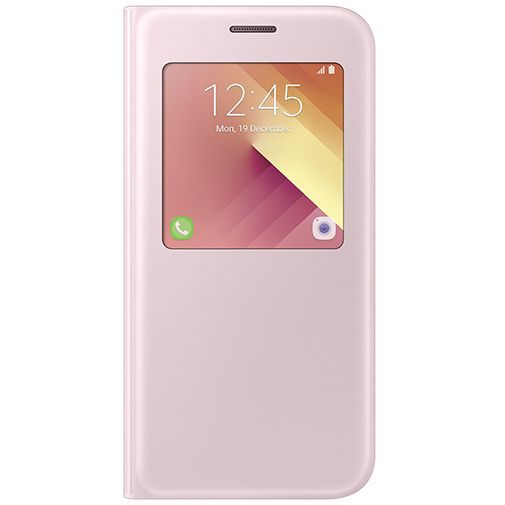 Productafbeelding van de Samsung S View Cover Pink Galaxy A5 (2017)