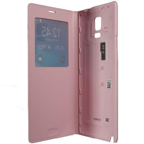 Productafbeelding van de Samsung S View Cover Pink Galaxy Note 4