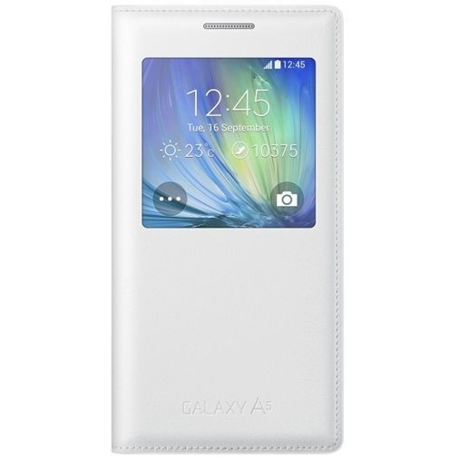 Productafbeelding van de Samsung S-View Cover White Galaxy A5