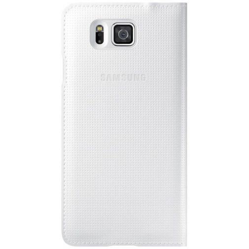 Productafbeelding van de Samsung S-View Cover White Galaxy Alpha