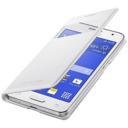 Productafbeelding van de Samsung S-View Cover White Galaxy Core 2