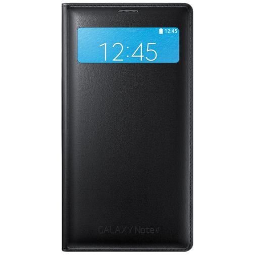 Productafbeelding van de Samsung S View Wallet Black Galaxy Note 4