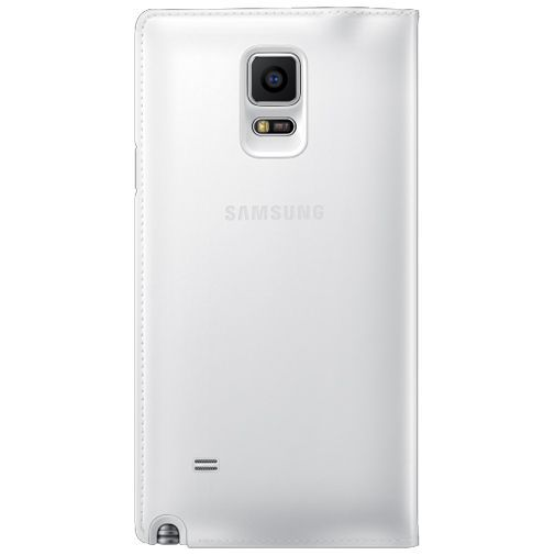 Productafbeelding van de Samsung S View Wallet White Galaxy Note 4