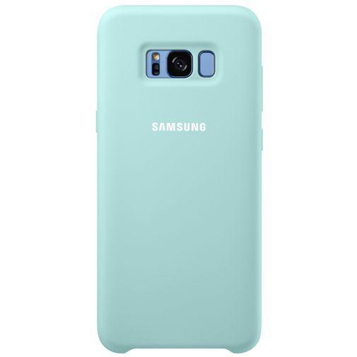 Productafbeelding van de Samsung Silicone Cover Blue Galaxy S8+