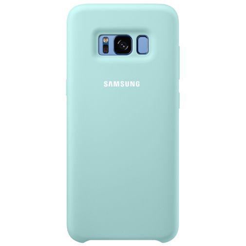 Productafbeelding van de Samsung Silicone Cover Blue Galaxy S8