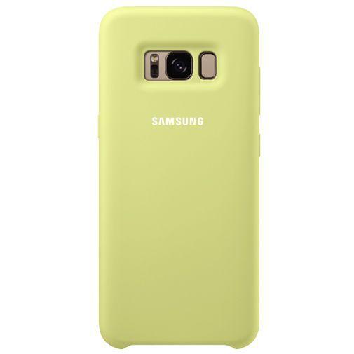 Productafbeelding van de Samsung Silicone Cover Green Galaxy S8+