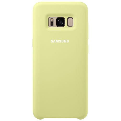 Productafbeelding van de Samsung Silicone Cover Green Galaxy S8