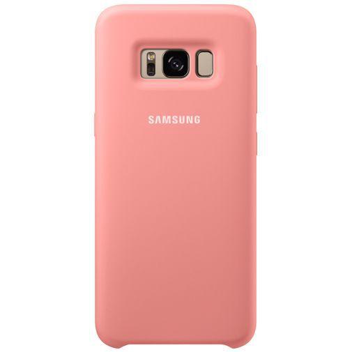 Productafbeelding van de Samsung Silicone Cover Pink Galaxy S8