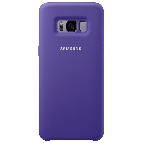 Productafbeelding van de Samsung Silicone Cover Purple Galaxy S8