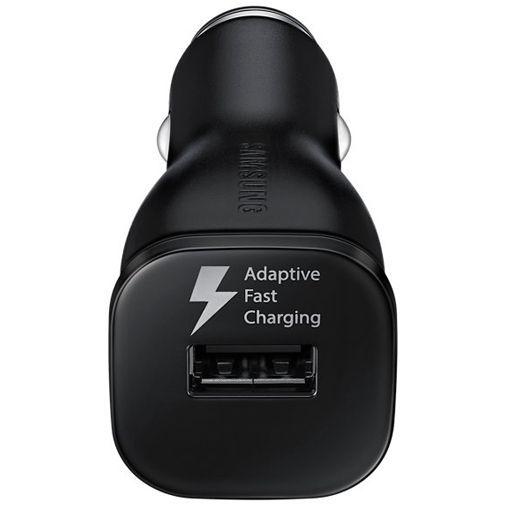 Productafbeelding van de Samsung Snelle Autolader USB + Micro-USB-kabel EP-LN915 Black