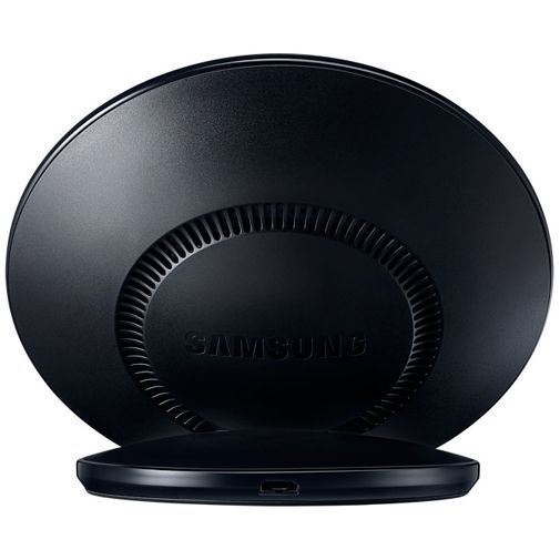 Produktimage des Samsung Wireless Quick Charger Stand EP-NG930 Schwarz