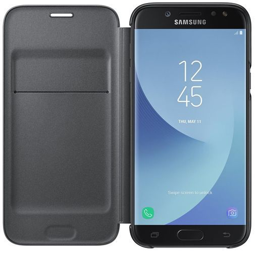 Produktimage des Samsung Wallet Cover Schwarz Galaxy J5 (2017)