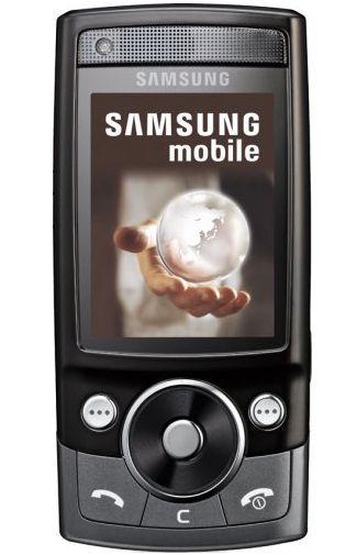 Productafbeelding van de Samsung G600 Ebony Black