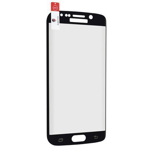 Productafbeelding van de ScreenArmor Glass Armor Edge-To-Edge Screenprotector Black Samsung Galaxy S6 Edge