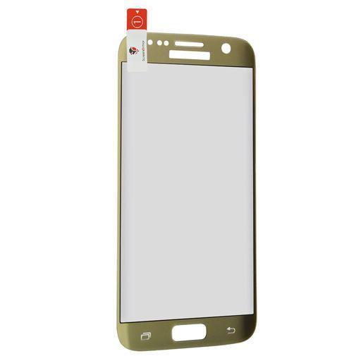 Productafbeelding van de ScreenArmor Glass Armor Edge-To-Edge Screenprotector Samsung Galaxy S7 Edge Gold
