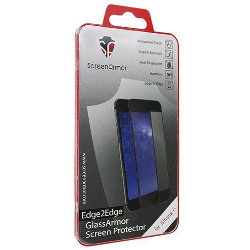 Productafbeelding van de ScreenArmor Glass Armor Edge-to-Edge Screenprotector Apple iPhone 6/6S Black