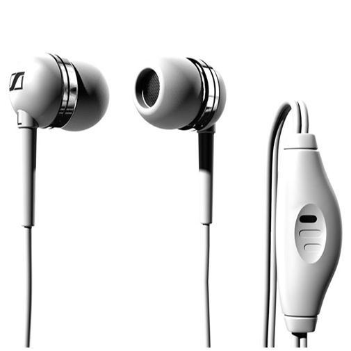Productafbeelding van de Sennheiser Headset MM50i Stereo iPhone White
