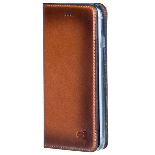 Productafbeelding van de Senza Desire Leather Booklet Burned Cognac Apple iPhone 7/8