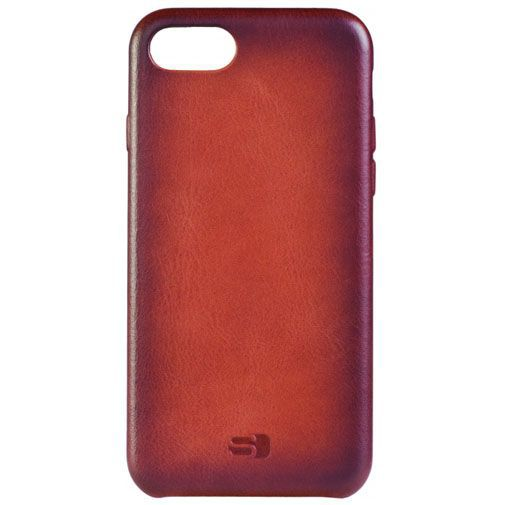 Productafbeelding van de Senza Desire Leather Cover Burned Cognac Apple iPhone 7/8