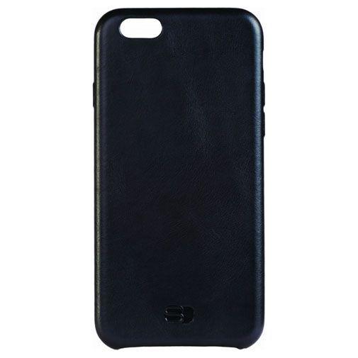 Productafbeelding van de Senza Pure Leather Cover Deep Black Apple iPhone 6/6S