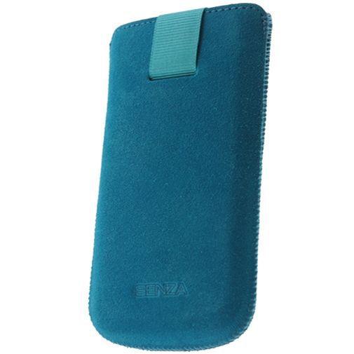 Productafbeelding van de Senza Suede Slide Case Deep Turquoise Size L