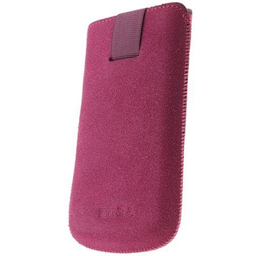 Productafbeelding van de Senza Suede Slide Case Hot Pink Size XXL