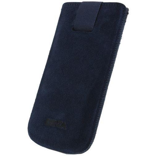 Productafbeelding van de Senza Suede Slide Case Intense Blue Size XL
